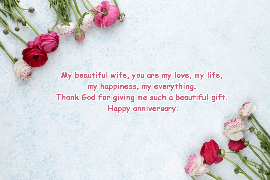 Anniversary Wishes Quotes Messages for Wife