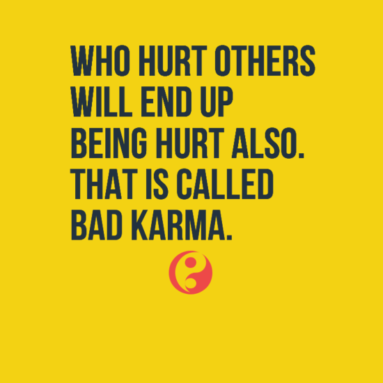 Bad Karma Quotes