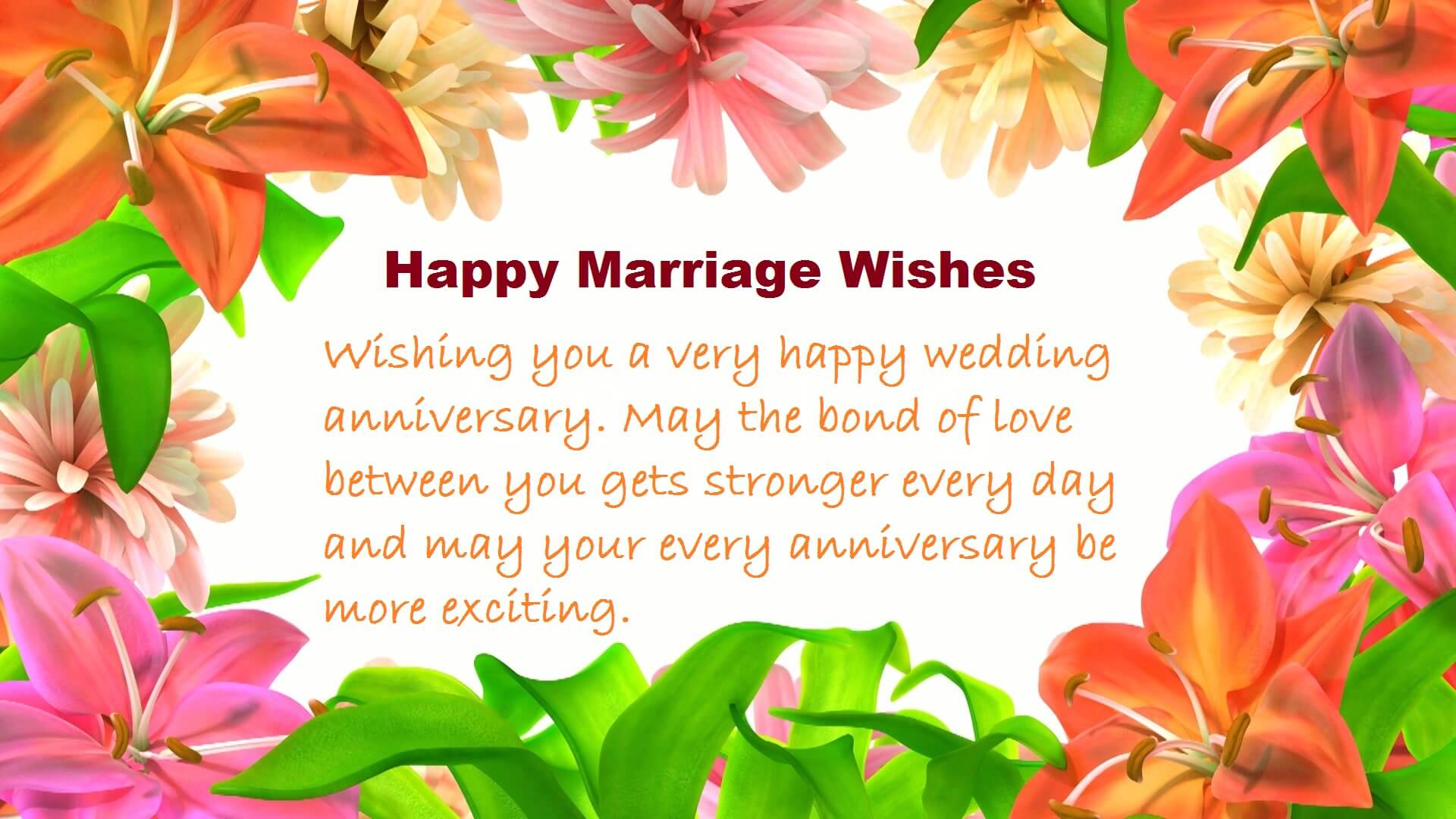 Beautiful Wedding Wishes Quotes Friends