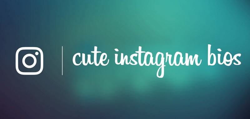 Cute Instagram Bios Quotes Status Ideas