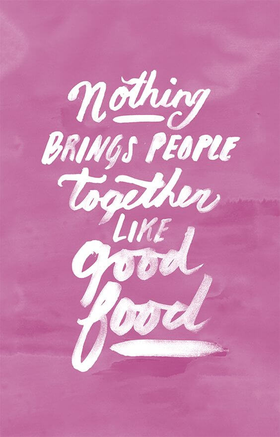 Food and Love Quotes
