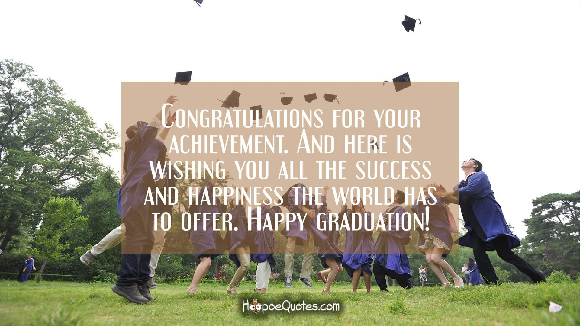 Graduation Wishes Quotes Messages