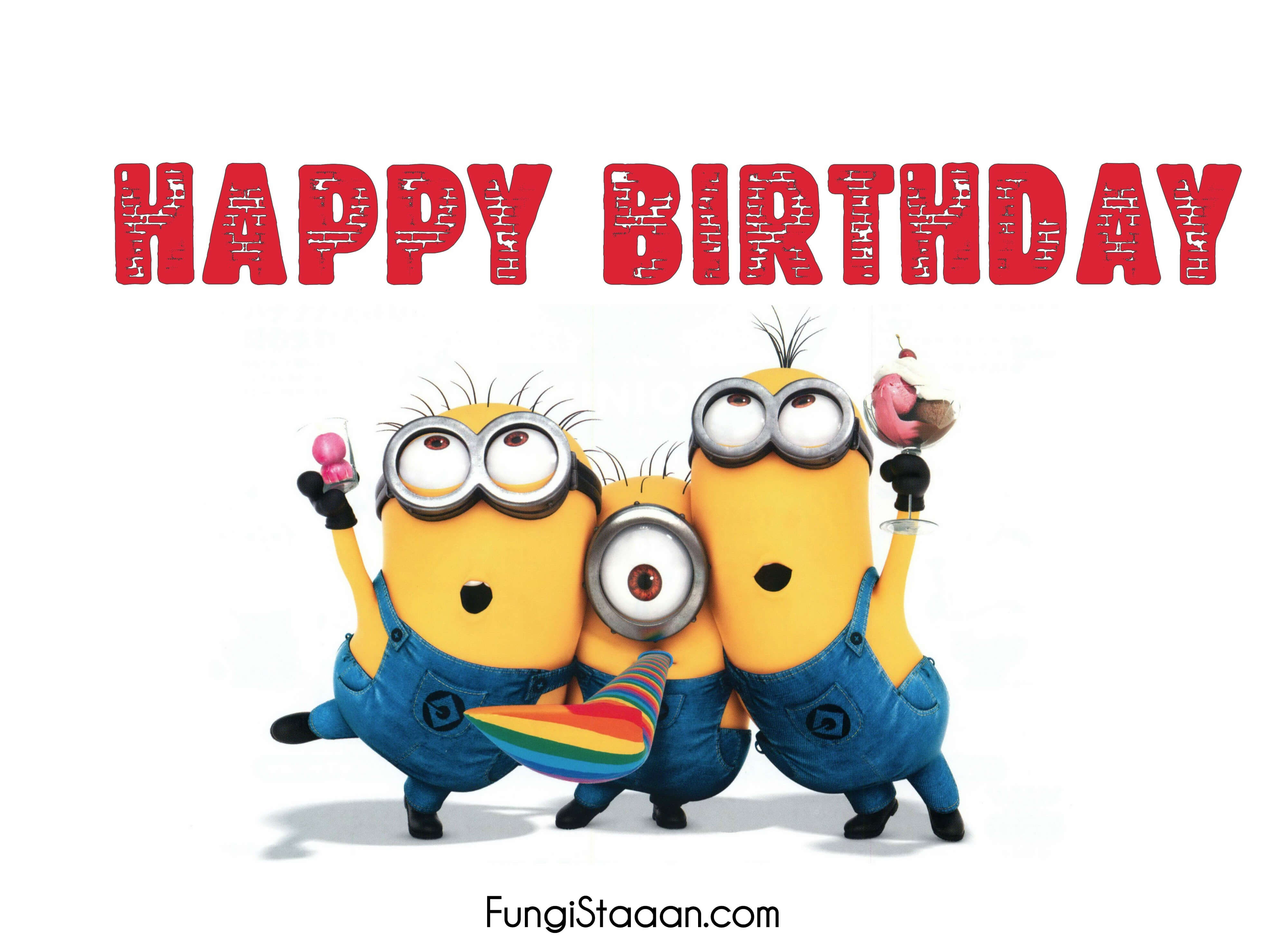 Birthday Images of Minions