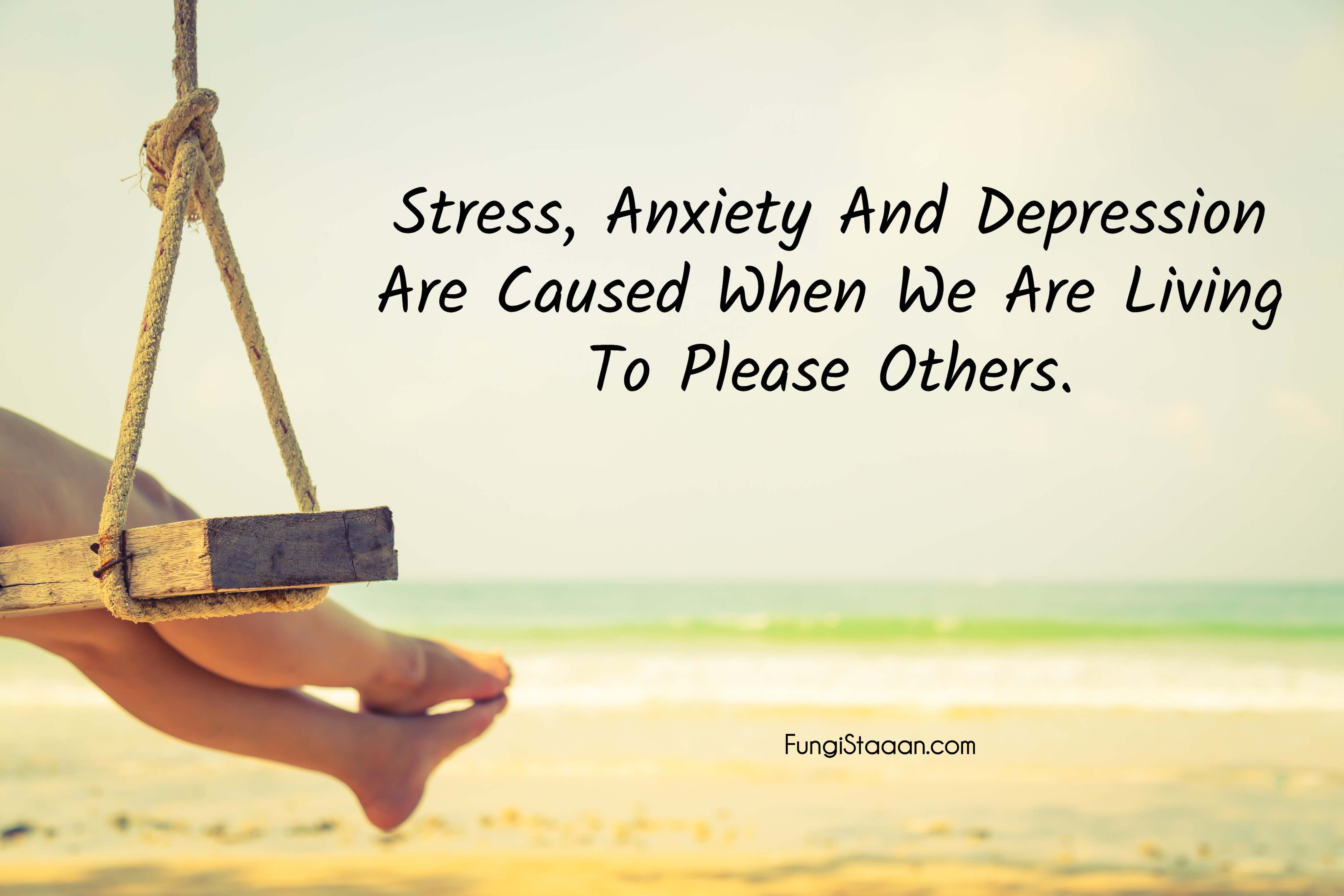 Dealing with Stress Quotes