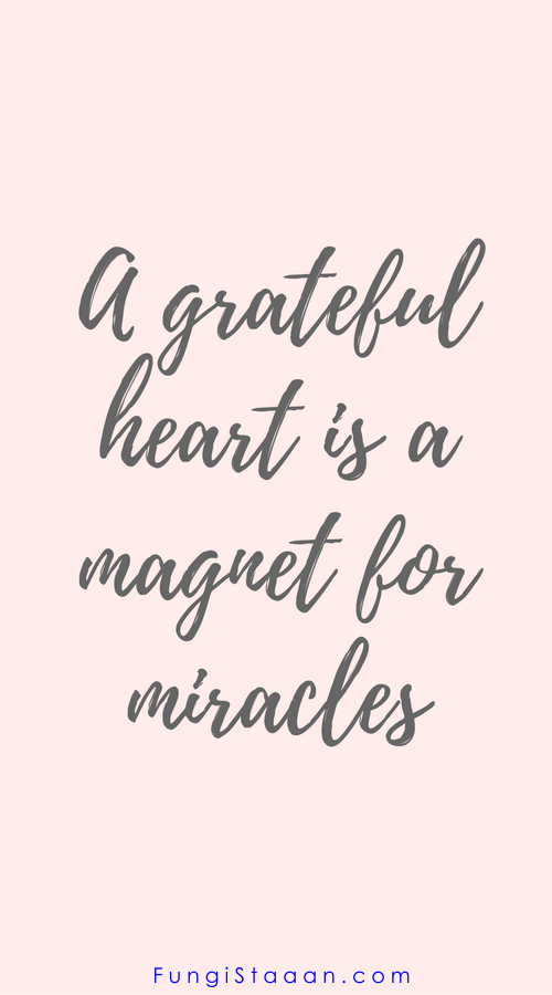 Top 100 Gratitude Quotes That Will Change Your Life Fungistaaan