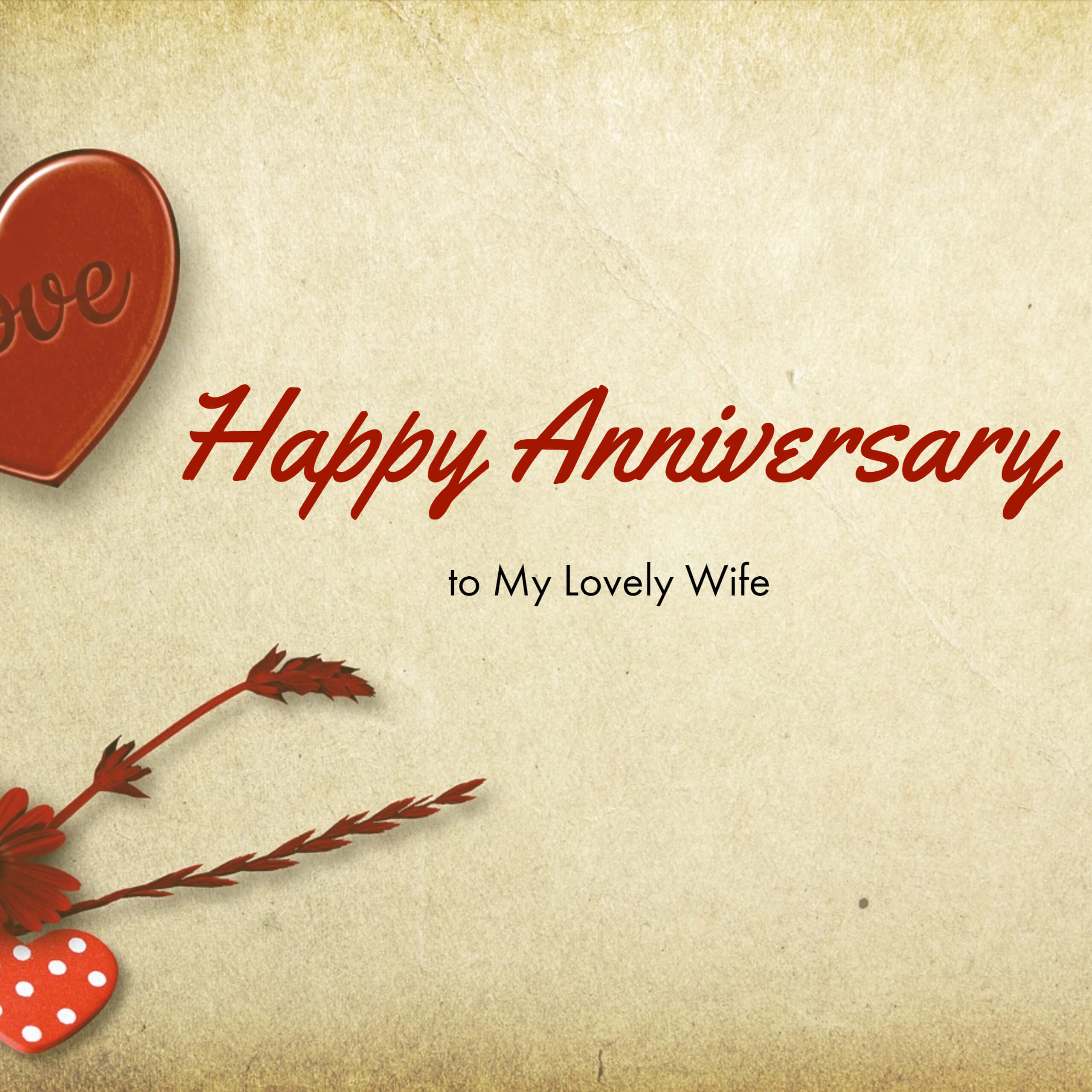 Happy Anniversary Wife Images