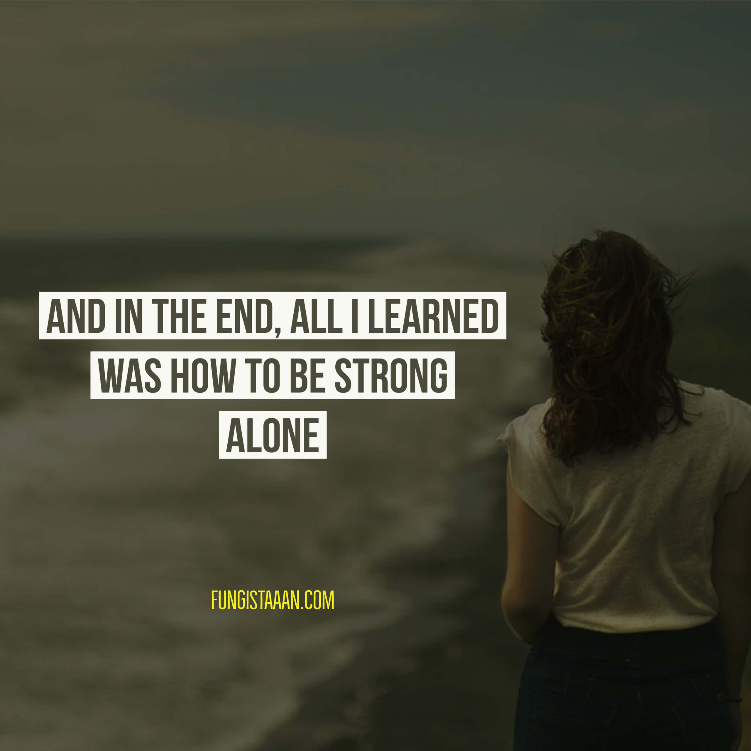 Lonely Sad Girl Images with Quotes