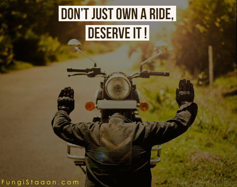 Royal Enfield Life Quotes