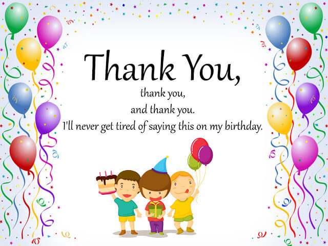 Thank You Images for Birthday