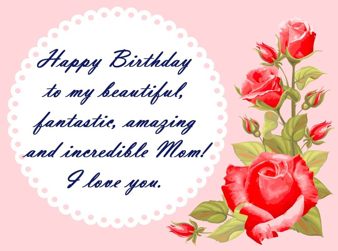 Happy Birthday Quotes for Mom