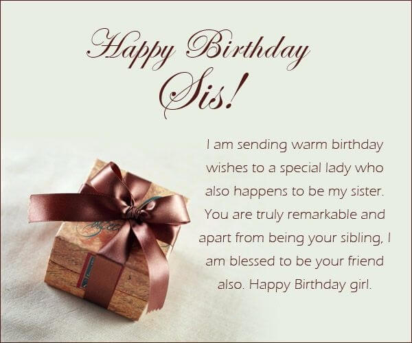 TOP 200+ Happy Birthday Wishes Quotes For Sister