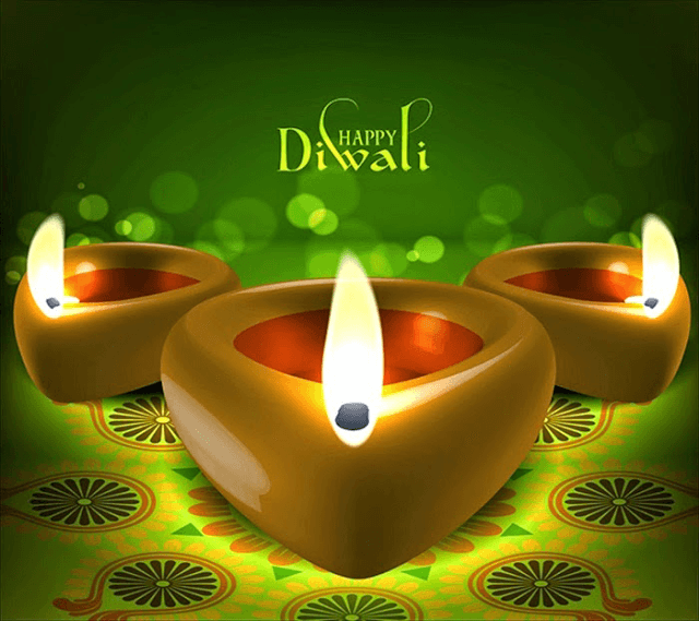 Whatsapp DP Best Happy Diwali Candles Wallpapers