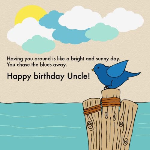 Birthday Wishes Quotes for Uncle
